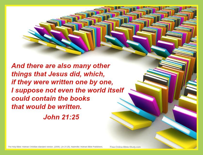 John 21:25