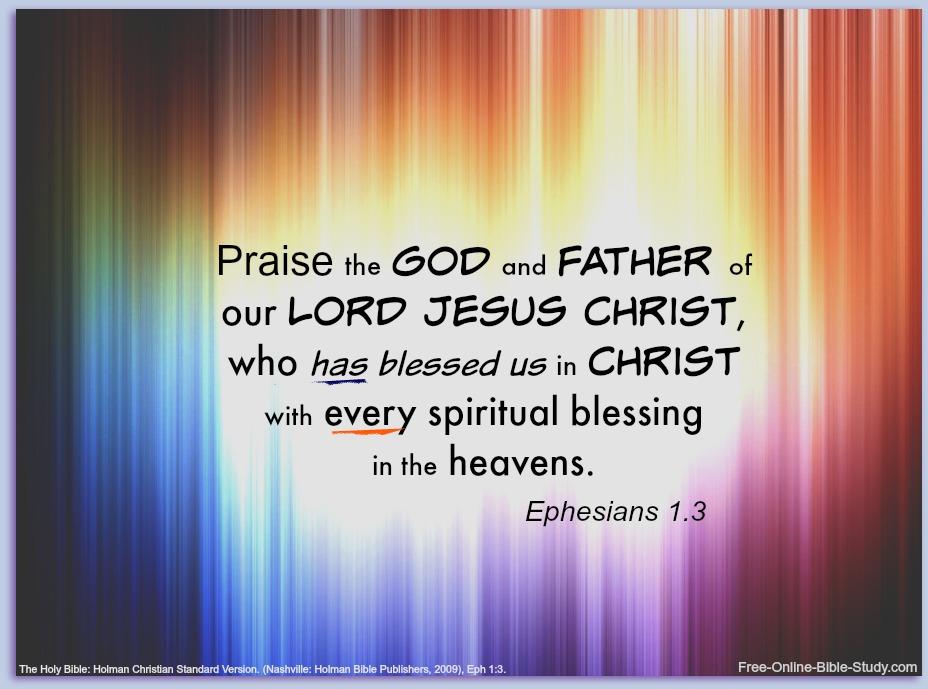 Ephesians 1:3