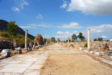 Entrance to Ephesus