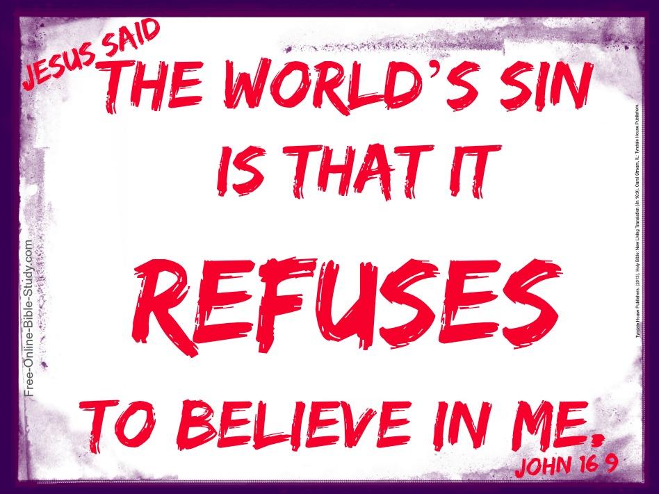 John 16:9