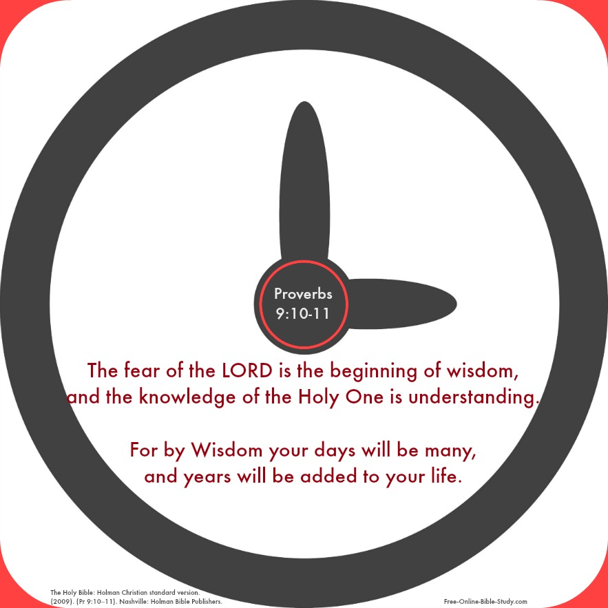 Proverbs 9:10-11
