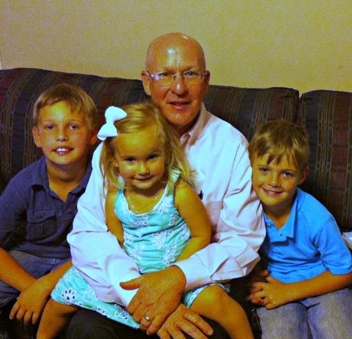 Clark and Grandkids