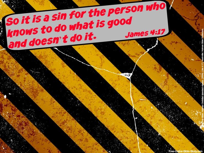 James 4:17