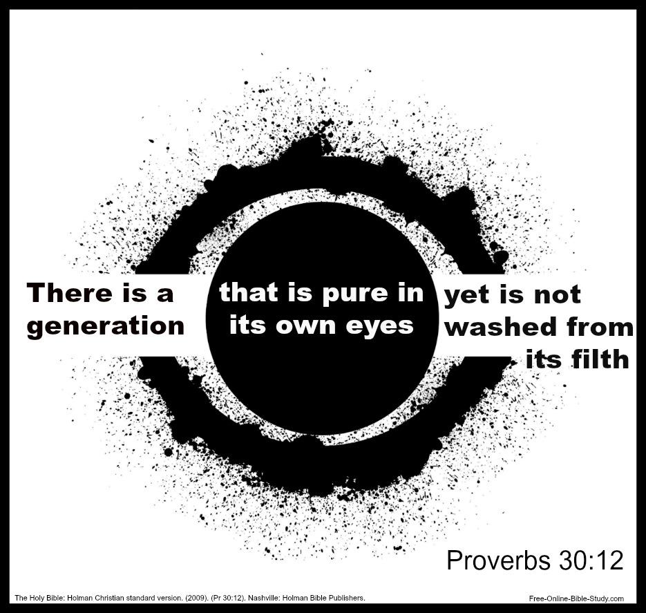 Proverbs 30:12
