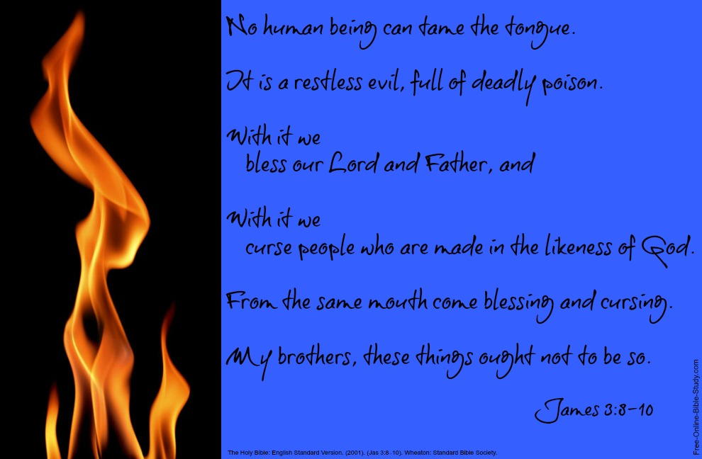 James 3:8-10