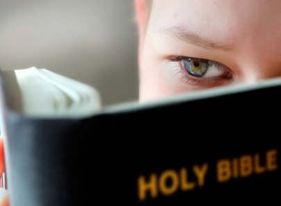 boy with Bible